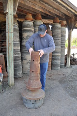 Ditching Smudge Pots for Cleaner Air (NRCS_Oregon) Tags: fruit oregon river natural quality air farming smudge conservation columbia orchard clean pots national heater hood service propane resources usda initiative grower nrcs