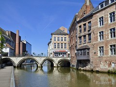 Mechelen (BE) - Dijle & Hoogbrug (Bvaerrts) Tags: bridge river canal belgium belgique belgie belgi medieval be pont brug mechelen flanders malines rivier vlaanderen dijle hoogbrug mecheln grootbrug ijzerenleen lamot dijlepad mechlin