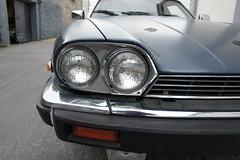 RH headlamp detail (Pim Stouten) Tags: auto car restore vehicle jag restoration xjs jaguar macchina coup restauratie wagen pkw vhicule