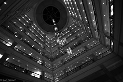 Westin Hotel Dubai (Joe Panter) Tags: wideangle fivestarhotel architecture dubai uae burj kalifa highest building skyscrapers lights night nightime sunset cityscape city amazing high joepanter canon7dmkii canon