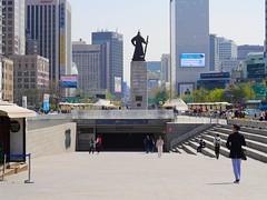 Gwanghwamun (Travis Estell) Tags: korea seoul southkorea jongno gwanghwamun republicofkorea jongnogu