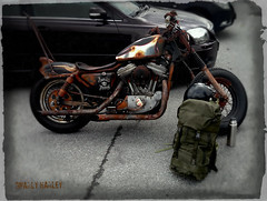 Gnarly Harley. (Papa Razzi1) Tags: spring ride may lg harleydavidson hd z1 2016 7214 142365 xperia