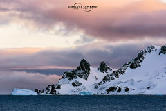 Blue hour on Livingston Island (Gianluca Lombardi Bani) Tags: travel sunset mountains ice antarctica glacier adventure shetlands