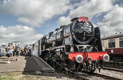 46100 - Dereham, MNR - Reunion Steam Gala - 24.06.2016(1) (Tom Watson 70013) Tags: mnr railway steam gala train locomotive 46100 royal scot class rebuilt mid norfolk