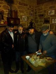 Luis, Martin e Manolo co Papuxas