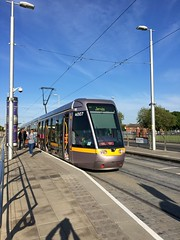 Dublin Luas light rail (airbus777) Tags: dublin train tram transit lightrail luas