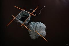 lost in space (Peter Schler) Tags: wool flickr space lostinspace wolle peterpe1 verlorenimweltall