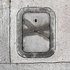 wet X (MyArtistSoul) Tags: concrete cracks monochrome texture grooves lines curves metercover urban minimal abstract square 2520 iphone4 venturaca