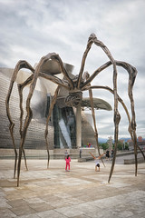 Spider (apricot's) Tags: odc spider guggenheim bilbao critters spain art museum street