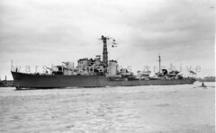 HMS Obdurate (Image Ref: warship3448) (ww2images) Tags: destroyer battleship warship 1947 royalnavy waratsea obdurate navyphoto britishships hmsobdurate warshipimages warshipimagescom warshipphotos