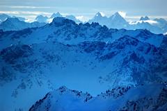 """""""bergketten im gegenlicht"""" Vorarlberg"""