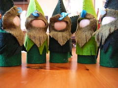 Woodland Gnomes (bridgitsbell) Tags: waldorf storytelling elementals naturetable naturespirits woodlandgnomes