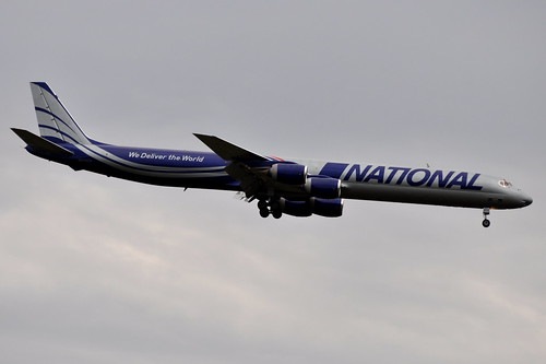 National Airlines (N8) (National Air Cargo) - Douglas DC-8-71F - N872CA - John F. Kennedy International Airport (JFK) - September 21, 2011 3 145 RT CRP