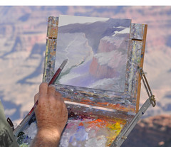 2010 Grand Canyon Celebration of Art 086 (Grand Canyon NPS) Tags: color art painting auction grandcanyon exhibition event annual palette grandcanyonnationalpark pleinair grandcanyonassociation grandcanyoncelebrationofart