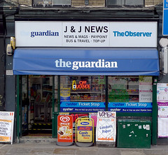 J and J News, Old Street EC1V (Emily Webber) Tags: london shops islington oldstreet ec1 shopfronts londnshopfronts
