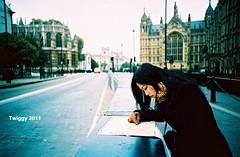 (Twiggy Tu) Tags: street uk trip portrait england london film me lomo lca map twiggy 2011 photobybrad