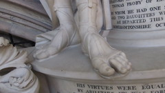 This year's style (pefkosmad) Tags: york detail feet church memorial sandals yorkshire yorkminster minster march2012
