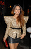 Preeya Kalidas, at PR guru Nick Ede's birthday party at Dstrkt Club. London, England