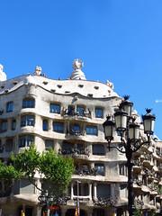 Casa Mila (afro07) Tags: barcelona houses tower castle church buildings towers sagradafamilia casabattlo casamila