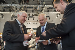Vladimir Ciobanasu with Rüdiger Grube