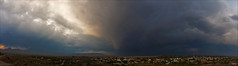 Beaufort West Storm (smee.bruce) Tags: panorama storm clouds southafrica canon5d thunderstorm karoo beaufortwest 1740mml therebeastormabrewin