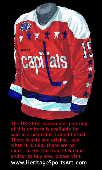 Washington Capitals 1993-94 jersey artwork (Scott Sillcox) Tags  art  heritage history 440d9bcca