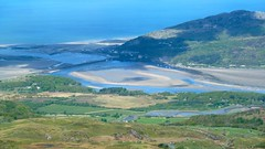 Barmouth from Tyrrau Mawr, Cader Idris