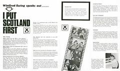 SNP leaflet, Hamilton by-election 1967 (Scottish Political Archive) Tags: party scotland hamilton scottish national 1967 mp winnie publicity campaign ewing byelection snp