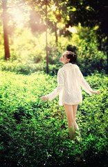 ..! (ducnho2413) Tags: woman sunlight nature girl woods vietnam darklight soulopeople1