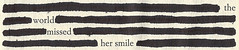 (neekaisweird) Tags: thelovelybones blackoutpoetry