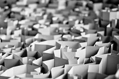 BenjaminSamson_Labyrinth_2 (ben0son - www.ben0son.com -) Tags: blackandwhite bw sculpture monochrome paper noiretblanc papier