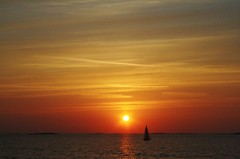 Tuesday miracle (Javinsky) Tags: sunset sea summer gteborg boat sweden sail archipelago