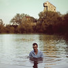 (Kyle.Thompson) Tags: boy portrait lake building guy abandoned water self 365