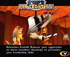 furballs_screen007 (furballs_dc) Tags: pc village screen beta prototype kangaroo dreamcast alpha onyx bungalow furballs furfighters undermill sergeantsternhauser