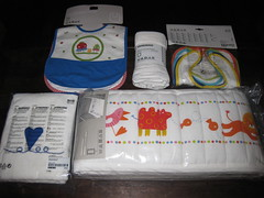 Ikea Baby Stuff (Travel Galleries) Tags: baby ikea linen guard things stuff crib cloth bibs