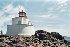 Lighthouse (Der Gute Leben) Tags: lighthouse canada film analog britishcolumbia vancouverisland praktica ucluelet prakticabcc lighthouseloop