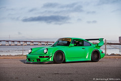 """Pandora One"" RAUH Welt-BEGRIFF (RWB) Porsche for Total 911 Magazine (jeremycliff) Tags: ocean sf california bridge sunset green canon japanese san francisco european euro 911 exotic turbo german porsche custom rare rwb 2012 brembo welt 964 illest rauh fatlace jeremycliff myacreativecom fatlacecom wekfest rotiform thephotomotivecom jeremycliffcom rwbporsche total911magazine total911rwb total911com"
