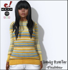 E!Eclectic Apparel--June Stumblebum item (Crash SL) Tags: fashion mesh secondlife stumblebum