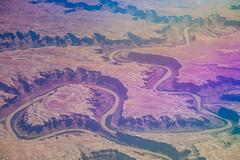 rainbow colorado river (ghee) Tags: usa canon river unitedstates aerial coloradoriver 5d planewindow ghee gwp