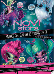 Novi Stars ad :) (alexbabs1) Tags: new autumn girls summer roma fall girl stars dolls action alie august aliens entertainment teen figurines una mae tween mga figures ari 2012 verse novi lectric mgae tallick