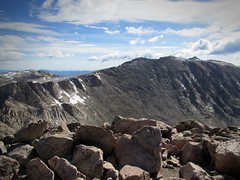 Mt. Evans from Mt. Bierstadt