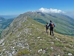 Escursionismo Majella - Monte Porrara dalla stazione di Palena