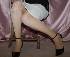 Van Raalte Taffeta (gingers.secret) Tags: sexy stockings lingerie half slip taffeta halfslip