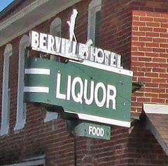 Berville Hotel (Larry the Biker) Tags: bar rural restaurant inn downtown village michigan country tavern hamlet burg berlintownship berville