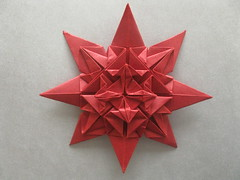 Baroque Star by Me (georigami) Tags: paper origami papel papiroflexia
