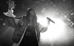Loreen (Brian Krijgsman) Tags: blackandwhite bw music film photography concert nikon photos sweden stockholm live grain swedish pop singer zwart wit melkweg loreen 2014 d4 iso12800 oudezaal wegotthepower briankrijgsman