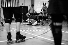 NRG 5 years (Tup') Tags: canon lens blackwhite europe belgium body rollerderby gear places treatment canonef50mmf14 floreffe rgionwallonne canon5dmarkii nrg5years