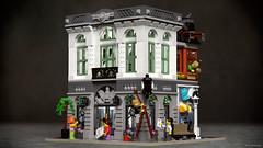 Brick Bank (mecabricks) Tags: 3d lego bank modular blender rendering cad cycles mecabricks