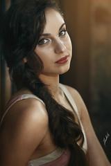 Classical Beauty (akachoke) Tags: portrait beauty canon 85mm russian retouch speedlight xti retoucher 400d yongnuo