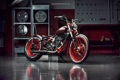 Brook I (Dejan Marinkovic Photography) Tags: bike oldstyle oldschool motorbike motorcycle brook strobist